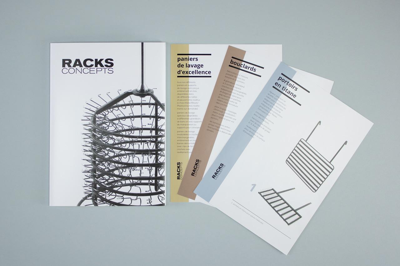 Racks concepts – Brochures